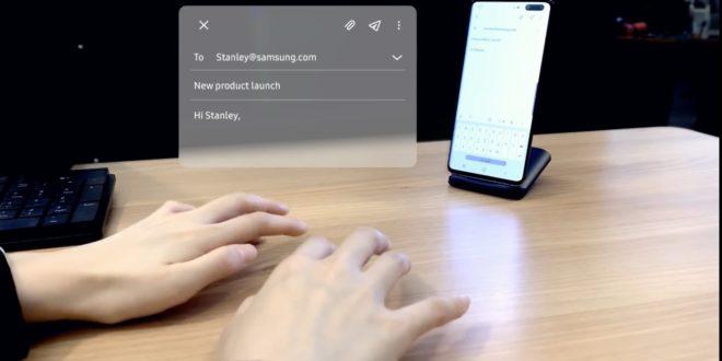 Teclado Invisible Samsung
