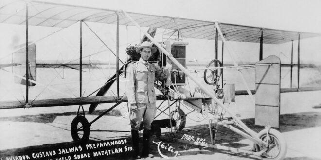 El Avión Sonora surcó los aires en 1913, luego de ser traído desde los Estados Unidos.