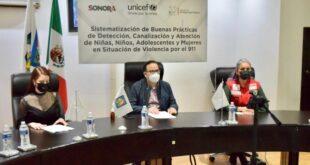 La UNICEF reconoció labor contra violencia del sistema de protección familiar del C5i en Sonora.
