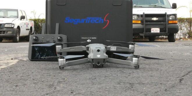 La empresa Seguritech ha encontrado en los drones, la herramienta de apoyo para reforzar la seguridad ciudadana.