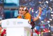 Evelyn Salgado rindió protesta como primera gobernadora de Guerrero.