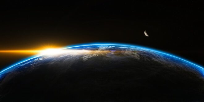 Tierra pierde su brillo